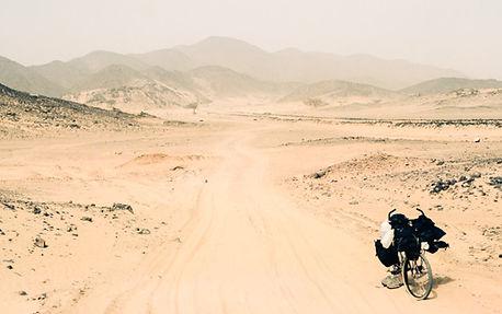 Cycling in Sahara