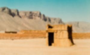 Saharan camp site