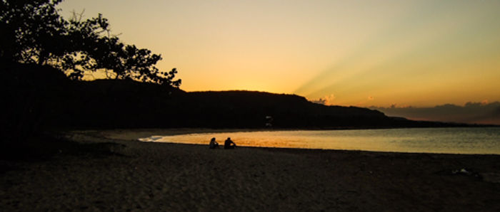 Peaceful Cuban beach
