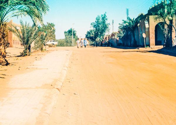 Ain Salah in Algerian Sahara