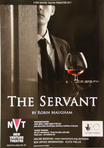 The Servant play poster