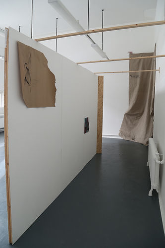 Degree Show installation shot, Newcastle University, 2018