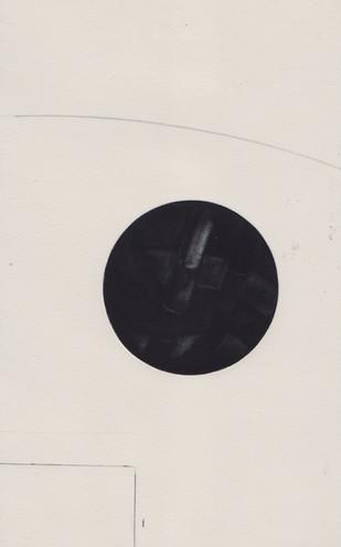 Untitled, mezzotint, 21x13, 2018