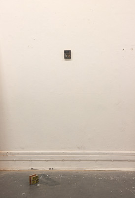 Hitman, oil on plywood, 2019