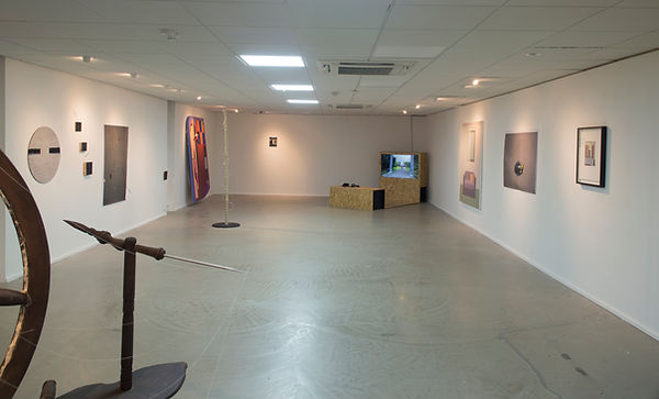 Install view, hu @ Abject Gallery, Newcastle upon Tyne