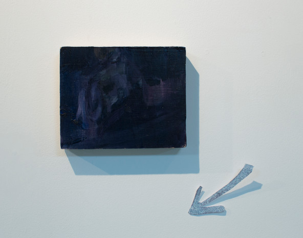 Location (detail), oil on board and photographic print, 350x200 cm, 2019