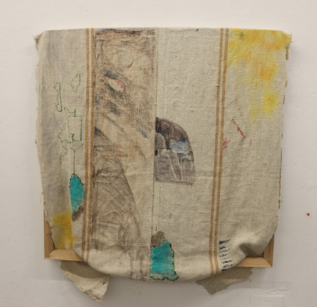 Untitled, mixed media, 100x100 cm, 2019