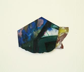 Untitled, oil on wood, 16x21cm, 2018