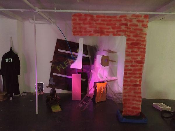 Collaborative installation