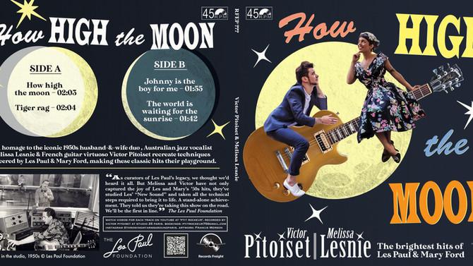 Nouveau Vinyle EP Hommage à Les Paul & Mary Ford avec le label Records Freight !