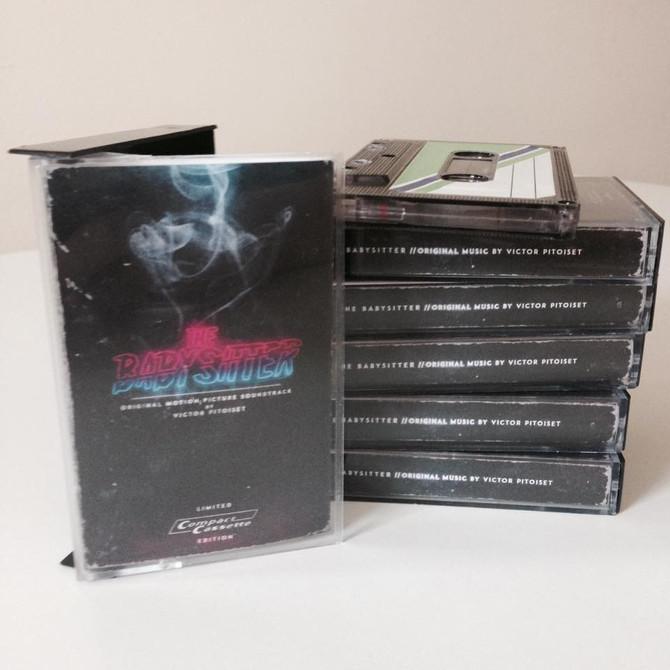 Sortie de la bande originale de The Babysittersurcassette!