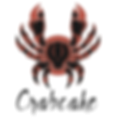 Crabcake Logo + Crab Square White Backgr