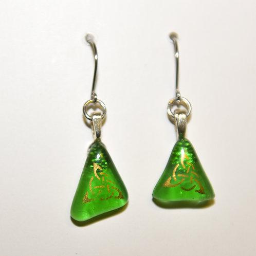 Celtic Family Knot hoop earrings