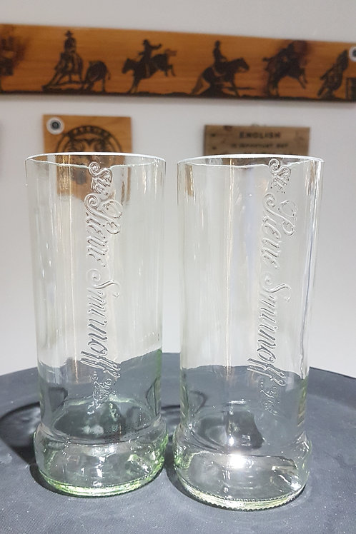 Smirnoff tumbler glass set of 2