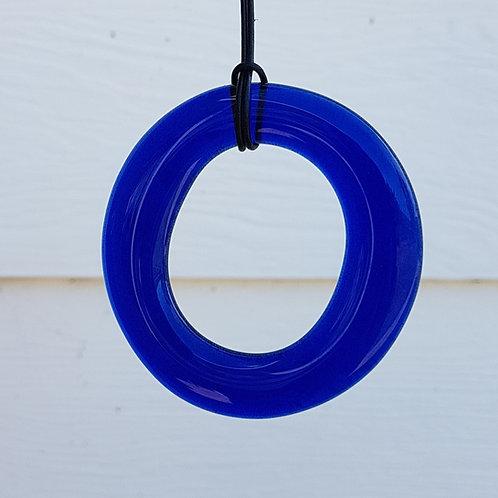 Wine bottle ring pendant necklace