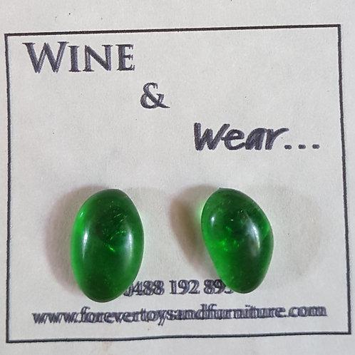 Wine and Wear Stud Earrings 10mm