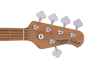 Roasted Hard Maple Neck & Roasted Maple(DBL, PWH) / Rosewood(SBK) Fretboard