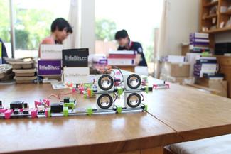 littleBits全種類を使って、あなたも発明家になろう! @寺子屋オーガニックCAFE EDEN