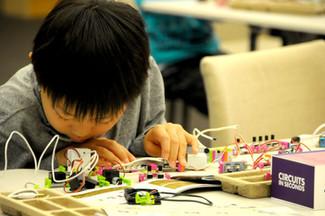 littleBitsワークショップ@川口市メディアセブン