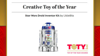 DROID INVENTOR KIT、TOTY2018を受賞!
