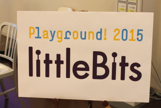 Playground! 2015 お茶の水で littleBitsワークショップ!
