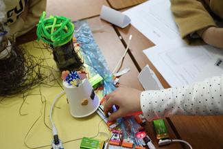 電子回路で「未来の広島の街」をつくろう!@アイル 己斐教室