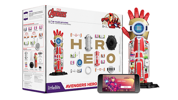 AVENGERS HERO INVENTOR KIT(330023418005)