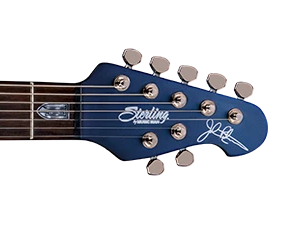 3-piece Mahogany Neck, Rosewood Fretboard, and Locking Tuners