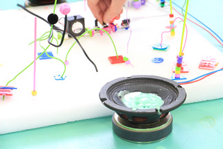 KIDS ON AIR x KORG littleBits体験会@代沢インターナショナルスクール/キッズオンエアー
