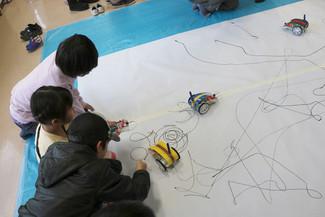 """littleBitsで""""アートかきぞめをしよう!"""""""