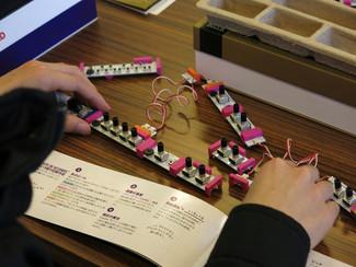 コルグ x littleBits―シンセサイザーを組み立てよう!@静岡産業大学『第16回鳳翔祭』