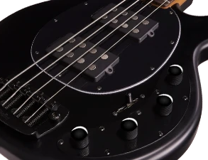 2 Alnico Humbucker & 3-band Active Preamp