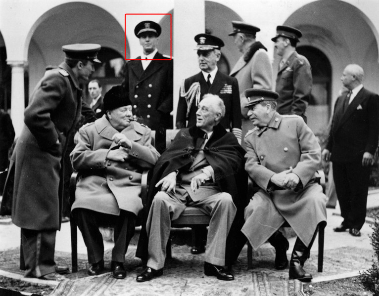 Photograph of the Yalta conference from Wikipedia page