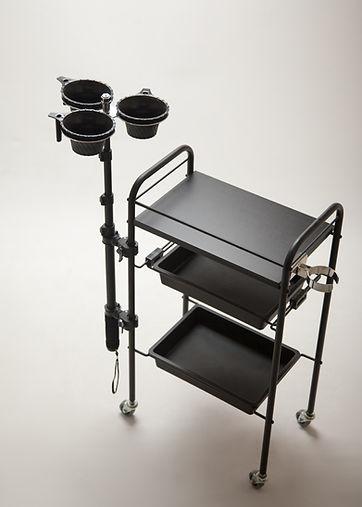 美容師さんの腰が痛い、腰痛を予防できる便利なサロン器具の販売