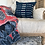 Thumbnail: Indigo African Mudcloth Pillow