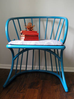 SOLD OUT!!Turquoise Wakefield Armchair
