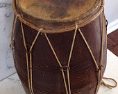 SOLD OUT!!VintageTribal Drum