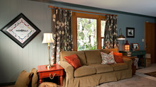 Colorful Family Room Redo