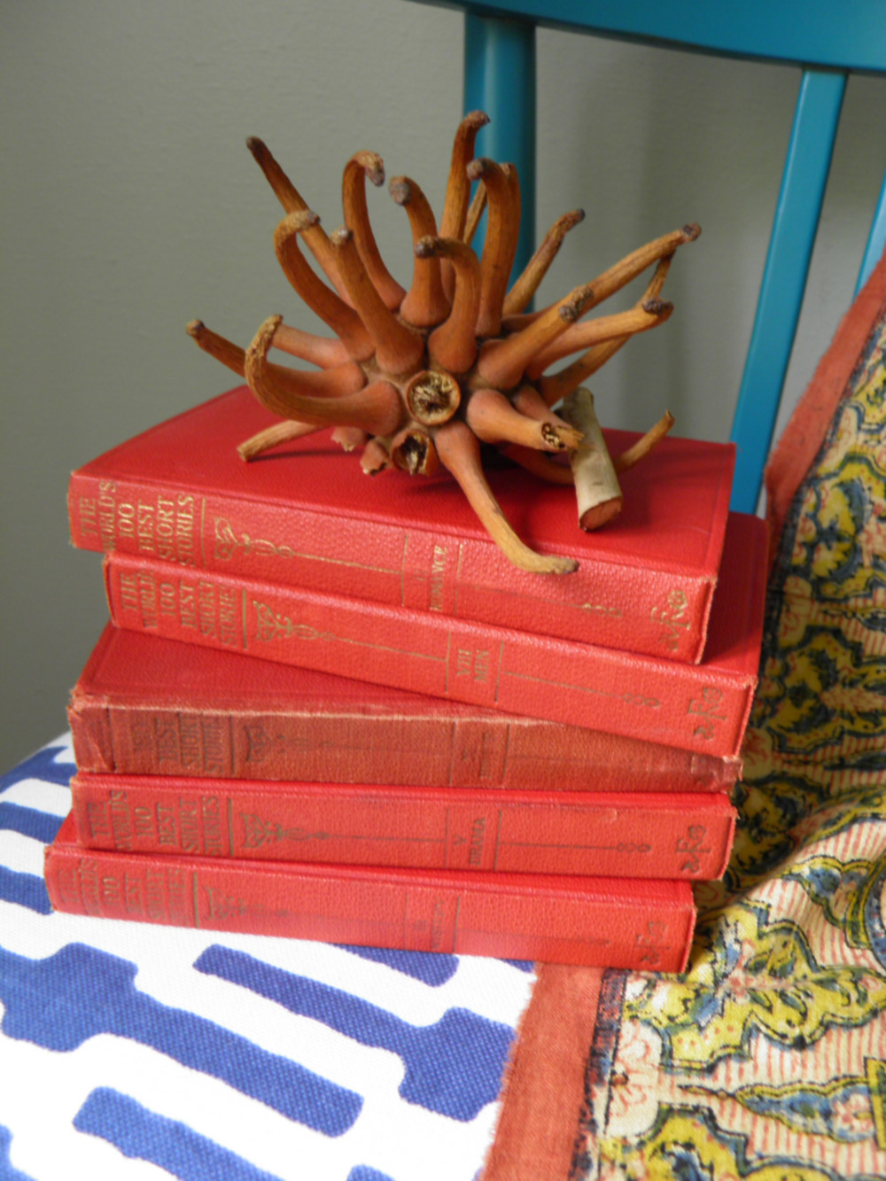 Vintage Red Books