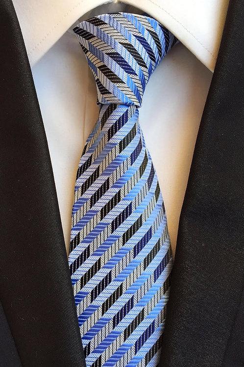 Elegant Blue Stripe