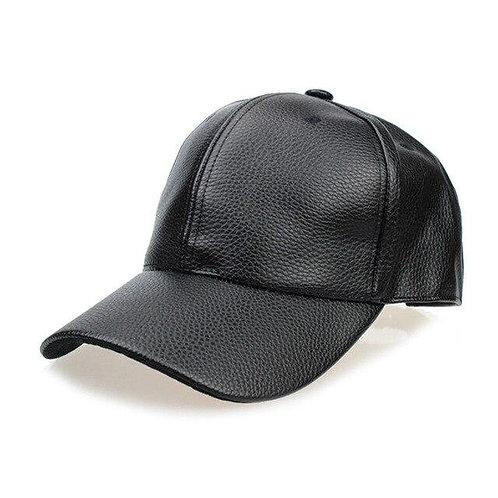 Tatsu Leather Cap - Vegan Leather