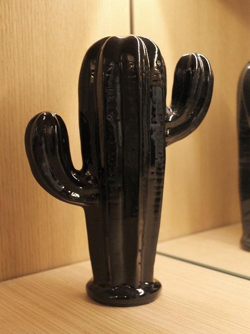 Ceramic cactus black