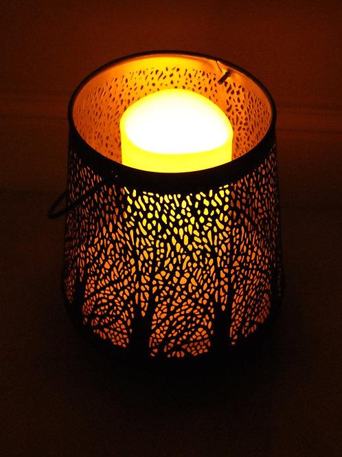 Decorative black lantern
