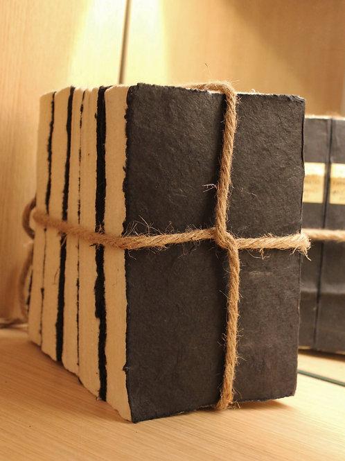 Decorative book bundle black
