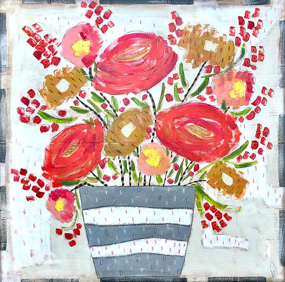 Springtime Floral by Marian Baker