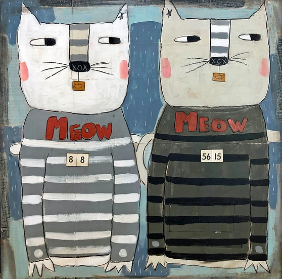 Meow Cats by Marian Baker
