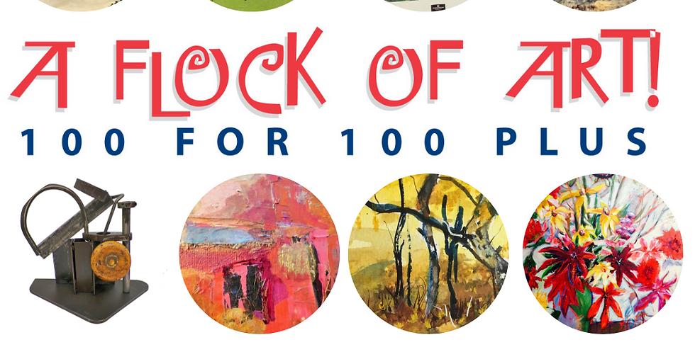 Flock of Art - 100 for $100 PLUS