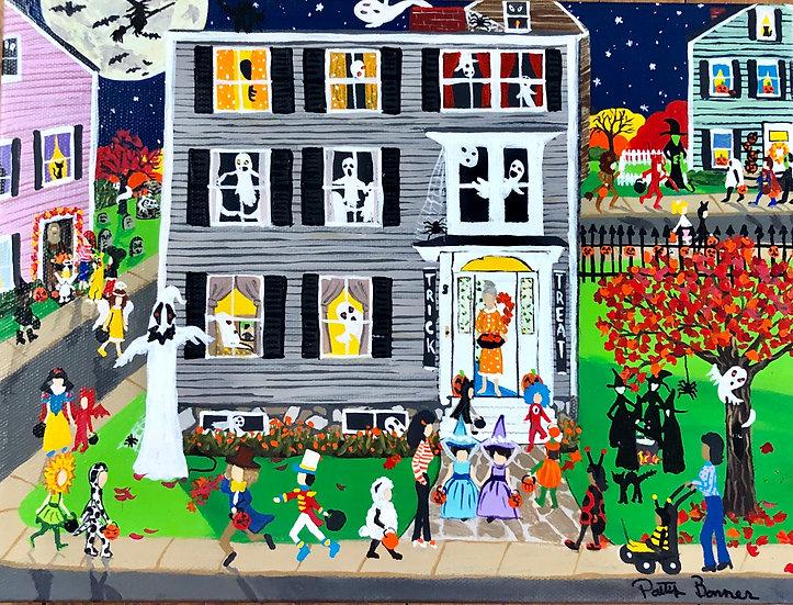 Halloween Lane by Patty Bonner