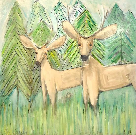 Deer by Cecel Allee