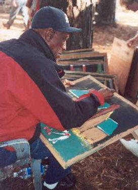 Jimmy Lee Sudduth Outsider Art Folk Art